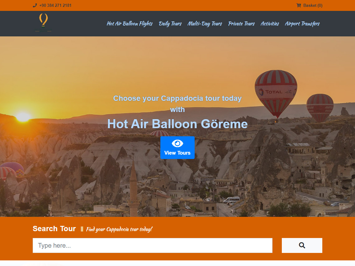 Hot Air Balloon Goreme